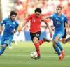 한국 '잘 싸웠다. U-20 결승전 하이라이트